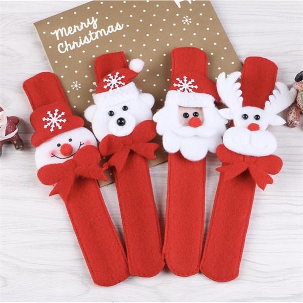 Christmas Slap Bracelet with LED