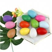 Customized Plastic Bright Easter Egg Assortment for Easter Egg Hunt/Surprise Egg/Easter Hunt