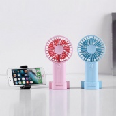 Phone Stand Rechargeable USB Fan