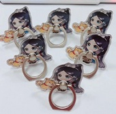 Phone Ring Holder and finger grip ring accessory