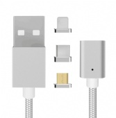 3 In 1 Usb Data  Mobile Phone Charger