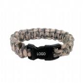 """Camo 8.5"""" Survival Bracelet"""