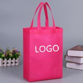 Reusable Nonwoven Go Tote Bag with Handle