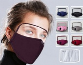 New eye protection washable cotton mask