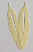 HardNok Bookmarks for Women Men, 30 Pack (Feather)