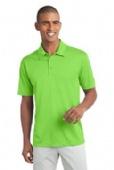 100% polyester moisture wicking polo shirt