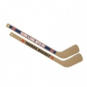 Mini Wooden Hockey Sticks with logo