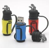 4 GB PVC Golf Bag USB Drive
