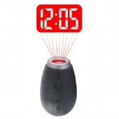 Portable Digital Time Projection Clock with Key Chain