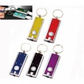 LED Flashlight with Keychain